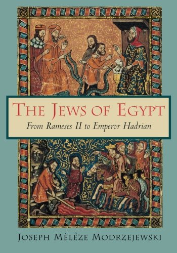 The Jews of Egypt - Joseph Meleze Modrzejewski