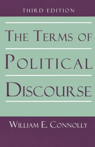 The Terms of Political Discourse. (Princeton Paperbacks) - William E. Connolly