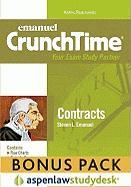 Emanuel Crunchtime: Contracts (Print + eBook Bonus Pack) - Emanuel, Steven