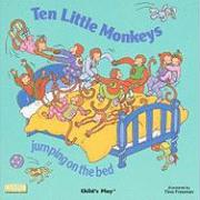 Ten Little Monkeys Jumping on the Bed (Books with Holes)