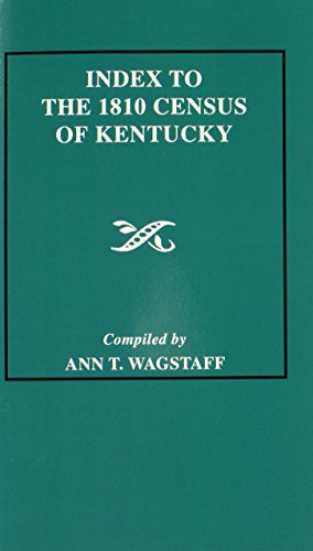 Index to the 1810 Census of Kentucky - Ann T. Wagstaff