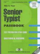 Senior Typist: Test Preparation Study Guide, Questions & Answers