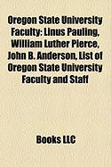 Oregon State University Faculty: Linus Pauling