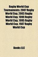 Rugby World Cup Tournaments: 2007 Rugby World Cup