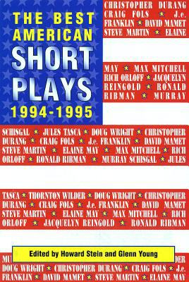 The Best American Short Plays 1994-1995 - Young, Glenn