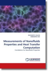 Measurements of Nanofluids Properties and Heat Transfer Computation - VAJJHA, RAVIKANTH / DAS, DEBENDRA