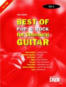 Best Of Pop & Rock for Classical Guitar 6