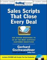 Sales Scripts That Close Every Deal