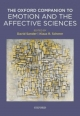 Oxford Companion to Emotion and the Affective Sciences - David Sander; Klaus Scherer