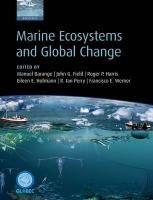 Marine Ecosystems and Global Change