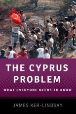 The Cyprus Problem - James Ker-Lindsay