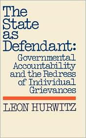 The State As Defendant - Leon Hurwitz