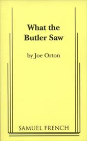 What the Butler Saw - Orton, Joe