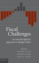 Fiscal Challenges - Elizabeth A. Graddy; Howell E. Jackson