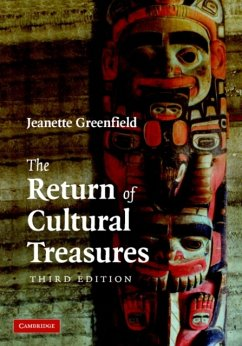 The Return of Cultural Treasures - Greenfield, Jeanette