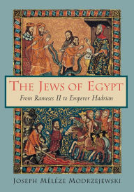 The Jews of Egypt: From Rameses II to Emperor Hadrian - Joseph Meleze Modrzejewski