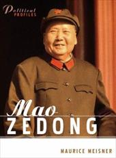 Mao Zedong: A Political and Intellectual Portrait - Meisner, Maurice