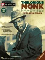 Thelonious Monk Favorites: Jazz Play-Along Volume 91