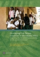 Developing Post-primary Education in Sub-Saharan Africa - Alain Mingat; Blandine Ledoux; Ramahatra Rakotomalala