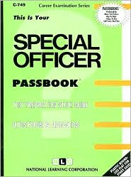 Special Officer - Manufactured by National Learning Corporation