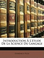 Introduction L'Tude de La Science Du Langage
