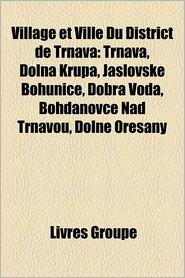 Village Et Ville Du District De Trnava - Livres Groupe (Editor)