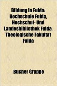 Bildung In Fulda - B Cher Gruppe (Editor)