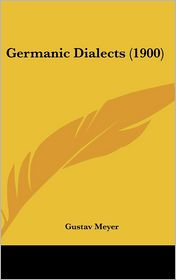 Germanic Dialects (1900)