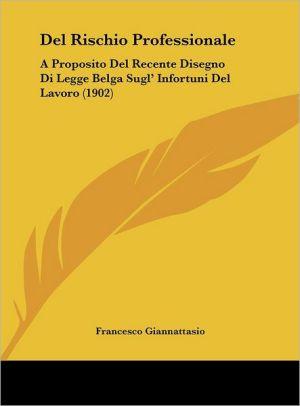 Del Rischio Professionale: A Proposito Del Recente Disegno Di Legge Belga Sugl' Infortuni Del Lavoro (1902) - Francesco Giannattasio