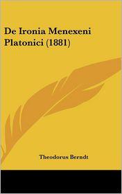de Ironia Menexeni Platonici (1881)