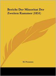 Bericht Der Minoritat Der Zweiten Kammer (1851)