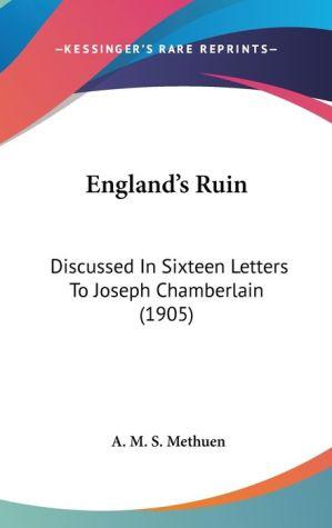 England's Ruin - A.M.S. Methuen