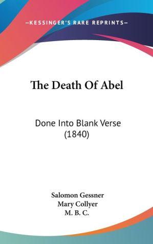 The Death Of Abel - Salomon Gessner