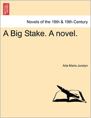 A Big Stake. A Novel.