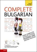 Complete Bulgarian: Teach Yourself