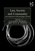 Law, Society and Community - Richard Nobles and David Schiff