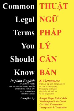 Common Legal Terms You Should Know: In Plain English and Vietnamese - Ph M. Xuan Vinh, Joseph