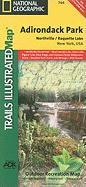 Adirondack Park, Northville/Raquette Lake, New York, USA (National Geographic Maps: Trails Illustrated)