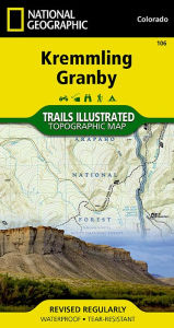 Kremmling Granby Colorado, USA - National Geographic Maps