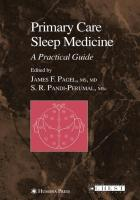 Primary Care Sleep Medicine: A Practical Guide