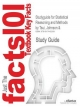 Studyguide for Statistical Reasoning and Methods by Tsui, Johnson &, ISBN 9780471042051 - Cram101 Textbook Reviews