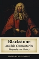Blackstone and His Commentaries - Wilfrid Prest