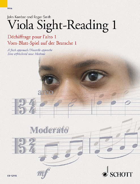 Viola Sight-Reading 1 Vol. 1 A fresh approach, (Reihe: Schott Sight-Reading Series) - Kember, John; Smith, Roger (Hrsg.)