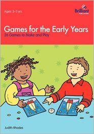 Games for the Early Years - 26 Games to Make and Play