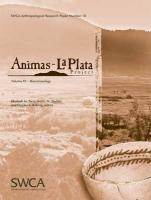 Animas-La Plata Project Volume XV: Bioarchaeology (Swca Anthropological Research Paper)