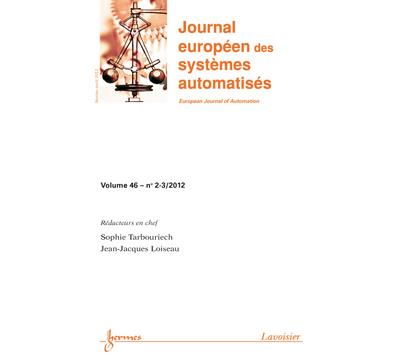Advances in predictive control and moving horizon estimation - Hermes Science Publications
