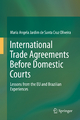 International Trade Agreements Before Domestic Courts - Maria Angela Jardim de Santa Cruz Oliveira