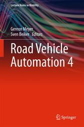 Road Vehicle Automation 4 - Gereon Meyer, Sven Beiker