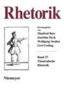 Rhetorik. Band 27 (2008) als eBook Download von