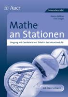 Mathe an Stationen Sekundarstufe I